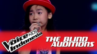 Download Jane ″Don't Rain On My Parade″ I The Blind Auditions I The Voice Kids Indonesia 2016 Video