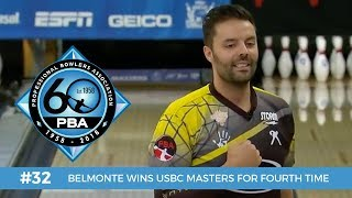 Download PBA 60th Anniversary Most Memorable Moments #32 - Belmonte Wins USBC Masters for Fourth Time Video