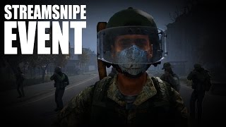 Download HUNTED BY AN ENTIRE SERVER - DayZ Streamsnipe Event Showdown Video