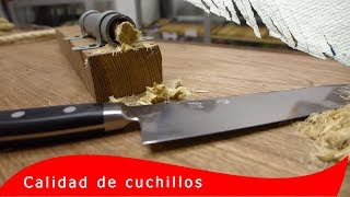 Download Mejores cuchillos de cocina resultados de máxima retención del filo Video
