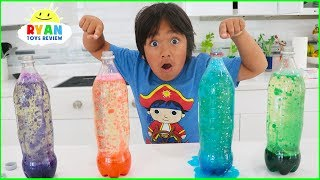 Download How to Make Lava Lamp at Home! Homemade Easy Science Experiments for Kids!!! Video