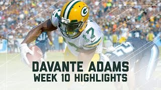 Download Davante Adams Goes Off for 156 Yards | Packers vs. Titans | NFL Week 10 Player Highlights Video
