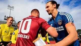 Download HIGHLIGHTS: LA Galaxy defeat Andres Iniesta, Lukas Podolski, and David Villa's Vissel Kobe Video