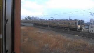 Download びっくり!電車非常停止 車内放送 信越線 群馬八幡~北高崎 2018年1月20日 Video