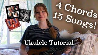 Download 4 Chords 15 Songs! TUTORIAL | Lindsey's Uke Video