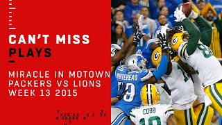 Download Aaron Rodgers' Amazing Hail Mary: The Miracle in Motown! | Packers vs. Lions | NFL Video