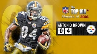 Download #04 Antonio Brown (WR, Steelers) | Top 100 Players of 2016 Video