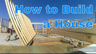 Download How to frame a house. Rough carpentry. Time lapse. Part 1 of 2 Video