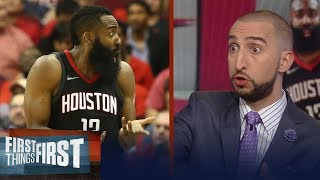 Download Nick Wright reveals Rockets issues after they dropped Game 1 to Warriors | NBA | FIRST THINGS FIRST Video