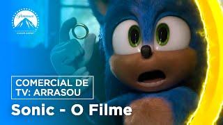 Download Sonic: O Filme | Comercial de TV: Arrasou | Paramount Pictures Brasil Video