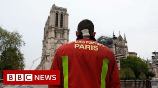 Download Notre Dame: Priceless artefacts saved from blaze - BBC News Video
