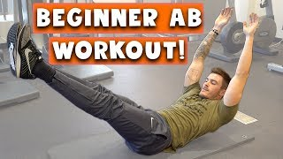 Download Beginner Ab Workout for Men and Women | 5 Easy Six Pack Abs Exercises Video