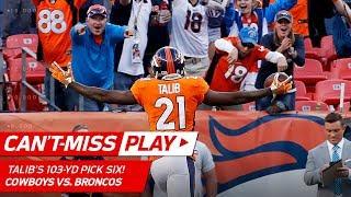 Download Aqib Talib's 103-Yard Pick Six! | Can't-Miss Play | NFL Wk 2 Highlights Video