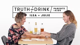 Download Parents and Kids Play Truth or Drink (Ilea & Julie) | Truth or Drink | Cut Video