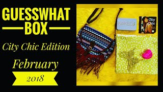Download Guesswhat box February 2018   Unboxing and Review  *makeup Giveaway open*  Video