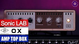Download Presentation: Universal Audio OX - Amp Top Box Video