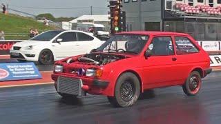 Download Zetec Turbo Mk2 Fiesta runs in the 10s! Video
