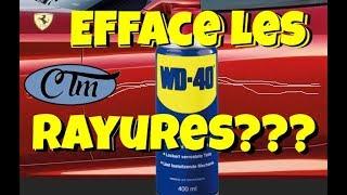 Download [TUTO] WD 40 Efface Rayures Carrosserie voiture et nettoie les jantes ???? Video