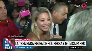 Download La tremenda pelea de Sol Pérez y Mónica Farro Video