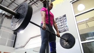 Download Meet the genetic beast of the WWE Performance Center, Bianca Blair Video