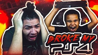 Download 9 YEAR OLD BROTHER DESTROYS MINDOFREZ PS4!! PRANK GONE WRONG - SO MUCH RAGING IN ONE VIDEO OMG! 😡 Video