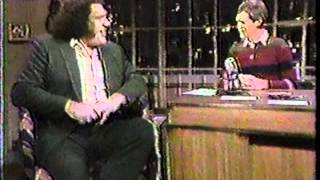 Download Andre, the Giant on Letterman Video