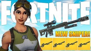Download *NEW* Heavy Sniper Gameplay In Fortnite: Battle Royale! Video