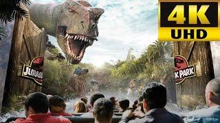 Download Jurassic Park Ride 4K Universal Studios Florida 2017 Refurbishment Video