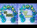 Download #arcoorganico ARCO DE BALÕES DESCONSTRUÍDO COPA DO MUNDO⚽⚽ Canal Juju Oliveira Video