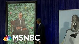 Download Why The Choices Matter: Obama Portraits Unveiled At National Portrait Gallery | MSNBC Video