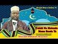 Download TUDUMU NA MATENDO MEMA BAADA YA RAMADHAN - SHEIKH OTHMAN KHAMIS Video