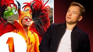 Download ″Elton is very naughty!″ Rocketman's Taron Egerton on flying, floating and channelling Elton John. Video