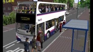 Omsi 2 HK West Kowloon maps route 2 to So Uk Free Download Video MP4