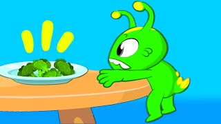 Download Episodio educativo! | Groovy il marziano insegna ai bambini a mangiare verdure sane Video