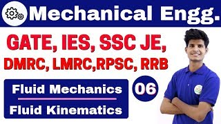 Download 12:00 PM | Mechanical by Neeraj Sir | Day #06 | Fluid Mechanics | Fluid Kinematics | Part-II Video