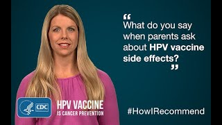Download Lacey Eden, NP, Explains How She Addresses Side Effects and HPV Vaccine Video