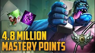Download SILVER 5 DR. MUNDO 4,800,000 MASTERY POINTS- Spectate Highest Mastery Points on DR. Mundo Video