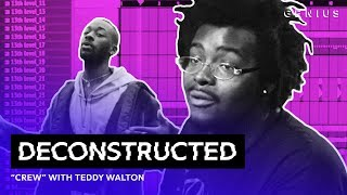 Download The Making Of GoldLink's ″Crew″ Feat. Brent Faiyaz & Shy Glizzy With Teddy Walton | Deconstructed Video