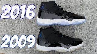 Download JORDAN 11 SPACE JAM 2016 VS 2009 (@SCOOP208) Video