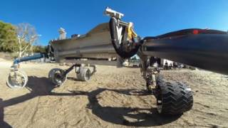 Download Rover Ride-Along in the Mars Yard (360 Video) Video
