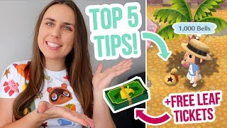Download FREE LEAF TICKETS + STORAGE | Top Tips and Tricks in Animal Crossing Pocket Camp! ZoeTwoDots Video