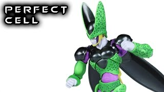 Download S.H. Figuarts PERFECT CELL Premium Color Edition Dragon Ball Z Action Figure Toy Review Video