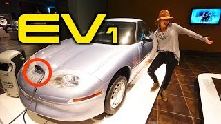Download The 115 Year Old Electric Car That Still Runs & A Surviving EV1! Video