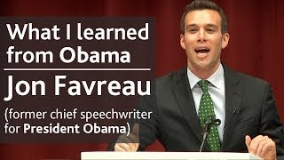 Download What I learned from President Obama | Jon Favreau (speechwriter) | UCD Literary & Historical Society Video