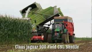 Download Claas jaguar 900 Field CSL Shuttle filmed wit a Gopro HD2 Video