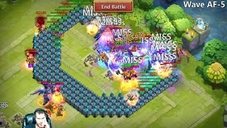 Download HBM AF-5 Defeated Showing The FULL Set Up USED Castle Clash Video