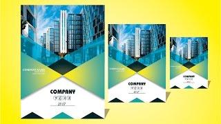 Download Corel Draw x7- Tutorial Business brochure Design best tips & trick Video