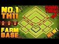 Download BEST TH11 FARMING BASE + PROOF!! | NEW CoC Town Hall 11 Trophy / Hybrid Base | Clash of Clans Video