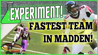 Download Madden 17 EXPERIMENT - Fastest Players At EVERY Position! (MUT 17 Experiment) Video