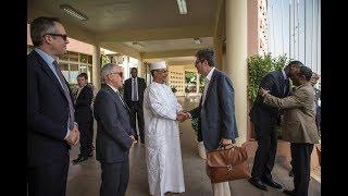 Download Une délégation du Conseil de Sécurité de l'ONU en visite officielle au Sahel : Etape du Mali Video